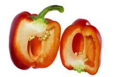 Röd peppar för svett Royaltyfria Bilder