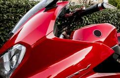 Röd pil - Honda VFR 800 F Royaltyfria Foton