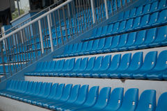 röd platsstadion för blå design dig Royaltyfri Bild