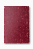 Röd räkningsanteckningsbok för Grunge Royaltyfria Foton