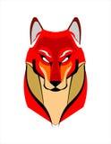 Röd räv vektor illustrationer