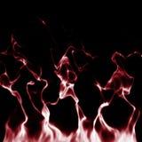 Röd rökabstrakt begreppbakgrund Royaltyfri Foto