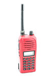 Röd radiocommunication Royaltyfri Bild