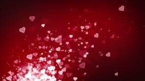 Röd resning för hjärtor
