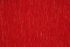 Röd ribbled yttersida Arkivfoton