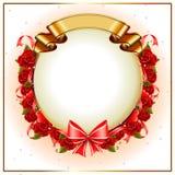 Röd ro för valentin Royaltyfria Bilder