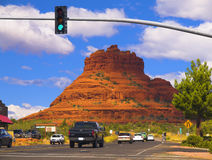 Röd rock av Sedona Arizona Royaltyfri Bild
