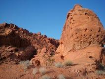 röd rock vegas för kanjonlas royaltyfri foto
