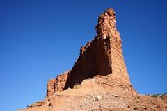 Röd rockklippa royaltyfri fotografi