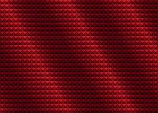 Röd rynkig abstrakt bakgrund Royaltyfria Foton