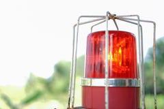 röd säkerhet Royaltyfri Fotografi