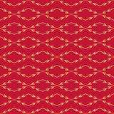 Röd sömlös modell för vektor stilfull texturvektor Ändlös blom- enkel bakgrund Diagonalen förgrena sig med bär royaltyfri illustrationer