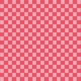 Röd sömlös tygtexturmodell stock illustrationer