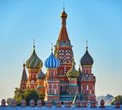 röd s fyrkantig st för basilikadomkyrka Royaltyfri Fotografi