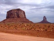 röd sand Fotografering för Bildbyråer