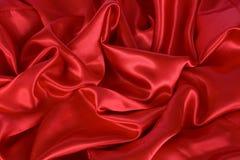 röd satäng Arkivfoto