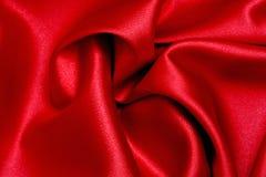 röd satängwave royaltyfri bild