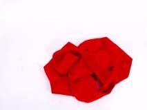 röd scarf Royaltyfri Bild