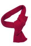 röd scarf Royaltyfria Bilder