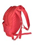 röd schoolbag Arkivbilder