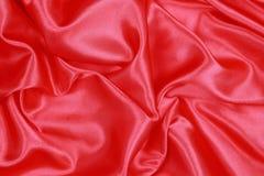 Röd siden- torkduk av krabb abstrakt bakgrund Royaltyfri Foto
