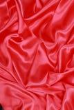 Röd siden- torkduk av krabb abstrakt bakgrund Fotografering för Bildbyråer