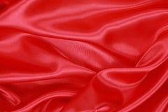 Röd siden- torkduk av krabb abstrakt bakgrund Royaltyfria Foton
