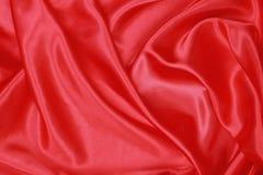 Röd siden- torkduk av krabb abstrakt bakgrund Royaltyfri Bild