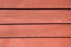 röd siding Arkivfoto