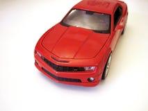 """Röd sikt för †för modell för bil—leksak """" arkivfoto"""