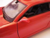 """Röd sikt för †för modell för bil—leksak """" royaltyfri foto"""