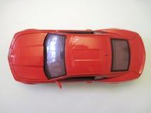 """Röd sikt för †för modell för bil—leksak """" arkivbild"""