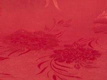 röd silk royaltyfri foto