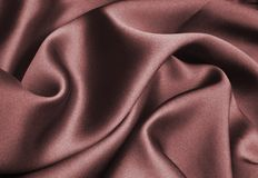 röd silk Royaltyfria Foton