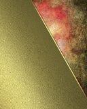 Röd sjaskig bakgrund Beståndsdel för design Mall för design Arkivfoton
