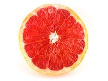 Röd skivad grapefrukt arkivbild