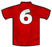 Röd skjorta sex Fotografering för Bildbyråer