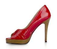 röd sko Royaltyfri Bild