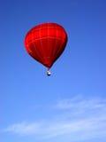 röd sky arkivfoton