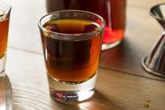 Röd slån Gin Liqueur Royaltyfri Fotografi