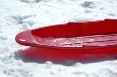röd sled Royaltyfri Foto