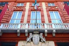 Röd slott Royaltyfria Bilder