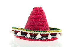 röd sombrero Arkivfoto