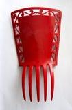 Röd spanjorhårkam Arkivbild