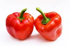 Röd spansk peppar för spansk peppar, matgourmetpaprika Royaltyfria Foton