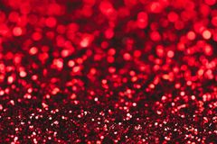 röd sparkle för bakgrund ljust och festligt Begrepp för St-valentin` s av hälsningen Storen specificerar! arkivbild