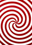 röd spiral Royaltyfri Bild