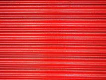Röd ståldörr Royaltyfria Bilder