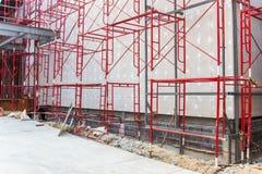 Röd stålstruktur Royaltyfri Fotografi