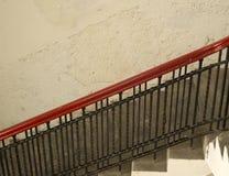 Röd stång Arkivbild